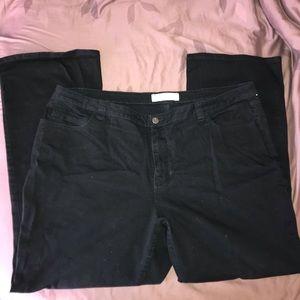 Black Fashion Bug Jeans Size 24